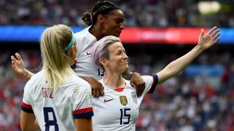 Megan Rapinoe has been in wonderful form throughout the Women's World Cup.