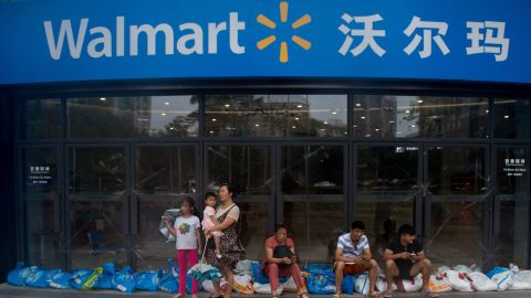 Walmart is stepping up investments in China to boost its logistics.
