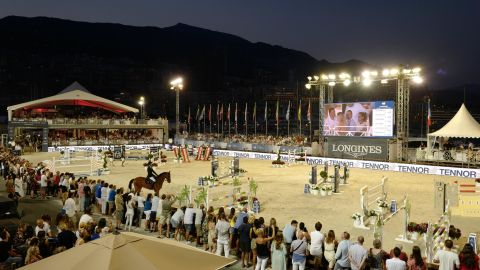 <strong>Monaco:</strong> The glitzy riviera resort of Monaco held the 10th and halfway stop of the Longines Global Champions Tour and Global Champions League.