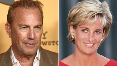 Kevin Costner and Princess Diana