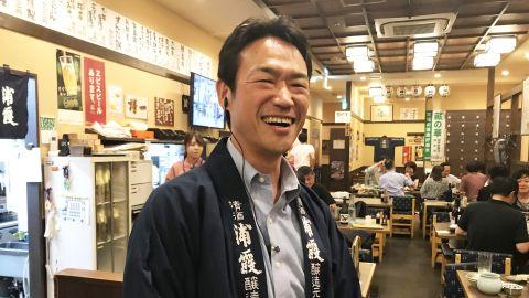 Shintaro Sato owns Taruichi restaurant in Tokyo, an izakaya that specializes in whale meat.