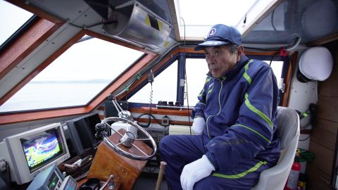 Mitsuhiko Maeda, 73, used to hunt whales. Now he leads whale-watching tours.