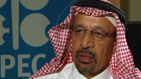 Khalid al-Falih was removed as chairman of the giant state-owned oil company Saudi Aramco last week.