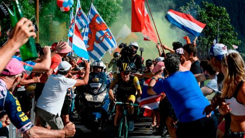 Cycling fans will pack the roadsides of this year's Tour especially on the key mountain stages in the Alps and Pyrenees.