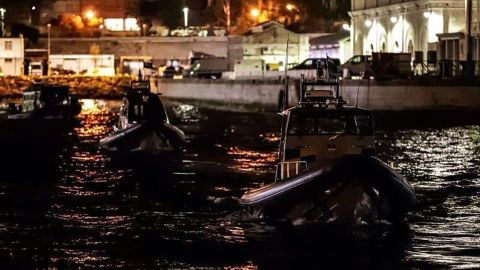 The vessel was suspected of carrying oil to Syria, breaching European Union sanctions.