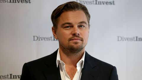 Actor Leonardo DiCaprio is one of thousands of investors who have pledged to divest from fossil fuels.