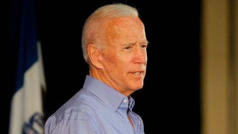 MARSHALLTOWN, IA - JULY 04: Former Vice President and 2020 presidential candidate Joe Biden speaks during a campaign event on July 4, 2019 in Marshalltown, Iowa. The 2020 Iowa Democratic caucuses will take place on Monday, February 3, 2020. (Photo by Joshua Lott/Getty Images)