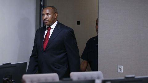 Former Congolese warlord Bosco Ntaganda was convicted of war crimes on Monday.