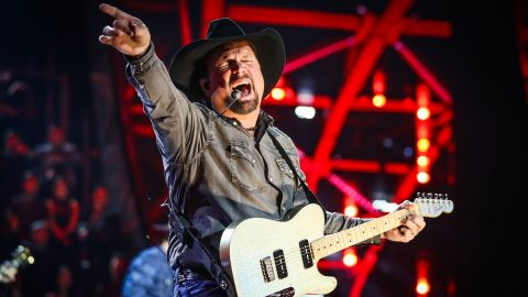 Garth Brooks performs on stage at the 2019 iHeartRadio Music Awards on March 14, 2019 in Los Angeles, California.