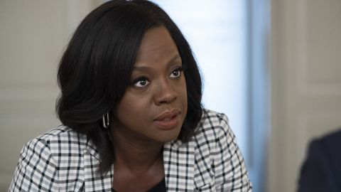 """Viola Davis, here in """"How to Get Away with Murder,"""" is developing a series for Showtime in which she would play Michelle Obama."""