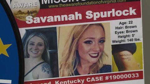 Missing Kentucky woman Savannah Spurlock