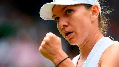 Simona Halep beat Elina Svitolina to reach her first Wimbledon final.