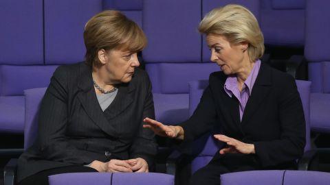 Von der Leyen has long been an ally of German Chancellor Angela Merkel and her longest-serving minister.