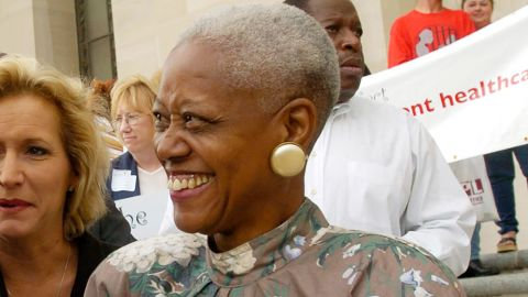 Sadie Roberts-Joseph at an event in Baton Rouge in 2004.