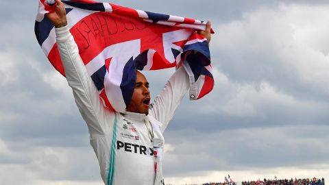 Lewis Hamilton has won 53% of all grands prix over the past six years.