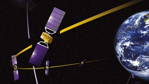 Galileo was designed to rival the US-controlled Global Positioning System (GPS) and Russia's GLONASS system.