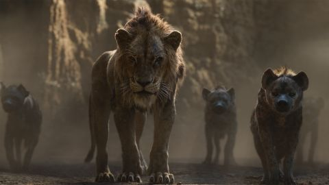 'The Lion King' features the voices of Florence Kasumba, Eric André and Keegan-Michael Key as the hyenas, and Chiwetel Ejiofor as Scar.