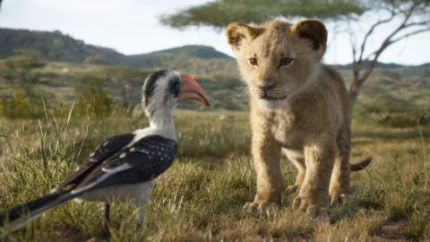 John Oliver voices Zazu and JD McCrary voices Young Simba in Disney's 'The Lion King'