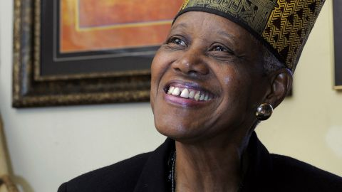 Sadie Roberts-Joseph, founder of the Odell S. Williams Now and Then Museum of African-American History, in February 2010.