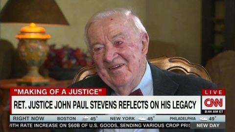 Hear Justice John Paul Stevens reflect on nearly a century of life lc orig_00001601.jpg