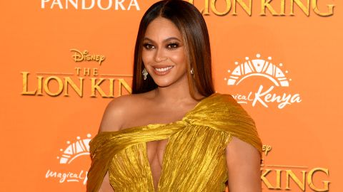 """Beyonce Knowles-Carter attends the European Premiere of Disney's """"The Lion King"""""""