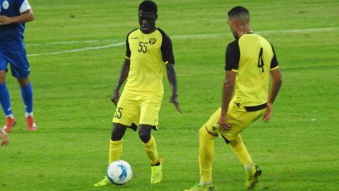 Ali Mohamed in action for his new club Beitar Jerusalem.