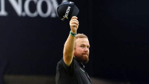 Ireland's Shane Lowry leads the Open by four heading into Sunday's final round.