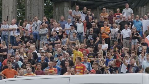Ultra-nationalist football hooligans, far right organizations and others took part in counter-protests across the city.
