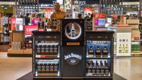 Jack Daniel's has a shop in the Melbourne, Australia, airport.