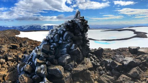 Okjökull is Iceland's first glacier to melt due to climate change.