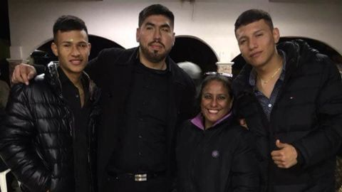 Francisco Galicia, left, was born and raised in Texas, his lawyer said,