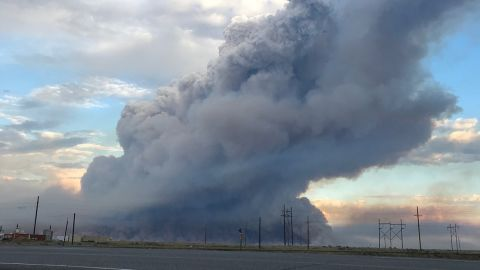 The Sheep Fire burns on Idaho National Laboratory land.