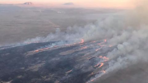 The Sheep fire grew to 90,000 acres in less than 24 hours.