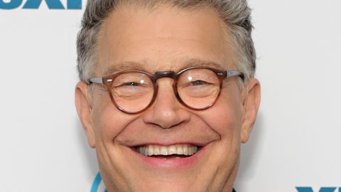 NEW YORK, NY - MAY 31:  Senator Al Franken discusses politics at a SiriusXM Town Hall with host Julie Mason and The Hill's Bob Cusack on May 31, 2017 in New York City.  (Photo by Cindy Ord/Getty Images for SiriusXM)