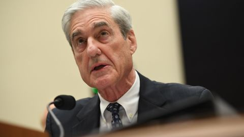 Former Special Prosecutor Robert Mueller testifies before Congress on July 24, 2019, in Washington, DC. - Mueller is expected to testify about his two-year report on his investigation of Russian meddling in the 2016 elections. (Photo by SAUL LOEB / AFP)