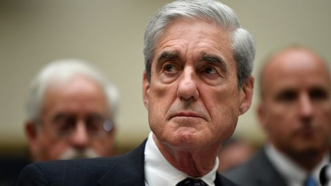 Former special counsel Robert Mueller testifies on Capitol Hill in Washington, Wednesday, July 24, 2019. (AP Photo/Susan Walsh)