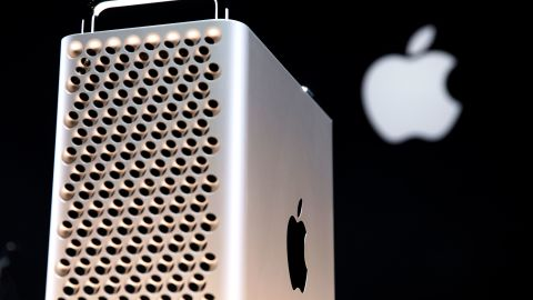 Apple's new Mac Pro sits on display in the showroom during Apple's Worldwide Developer Conference (WWDC) in San Jose, California on June 3, 2019. (Photo by Brittany Hosea-Small / AFP)        (Photo credit should read BRITTANY HOSEA-SMALL/AFP/Getty Images)