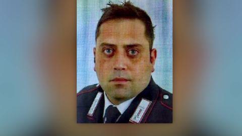 Italian police officer Rome killed