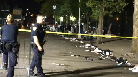 The NYPD is investigating the shooting in Brooklyn's Brownsville neighborhood.
