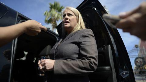 Puerto Rico's Secretary of Justice Wanda Vázquez Garced