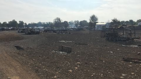 Robert Purdy of the Kentucky State Police said someone described the scene of the explosion as being like the surface of Mars.