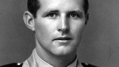 Joseph P. Kennedy Jr., the eldest son of Joseph and Rose Kennedy, died at 29 in a plane crash during World War II.