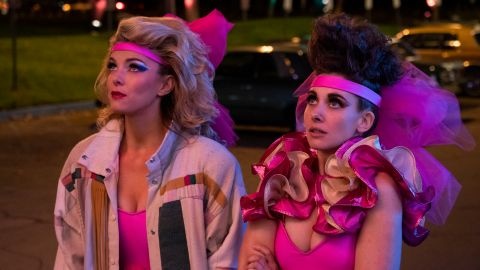 Betty Gilpin, Alison Brie in 'GLOW'
