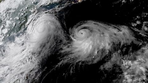 Lekima strengthened into a super typhoon and is being followed by Typhoon Krosa.
