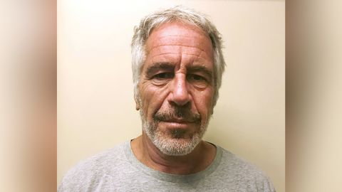 FILE - This March 28, 2017, file photo, provided by the New York State Sex Offender Registry shows Jeffrey Epstein.  Newly released court documents show that Epstein repeatedly declined to answer questions about sex abuse as part of a lawsuit. A partial transcript of the September 2016 deposition was included in hundreds of pages of documents placed in a public file Friday, Aug. 9, 2019 by a federal appeals court in New York. Epstein has pleaded not guilty to sex trafficking charges after his July 6 arrest.   (New York State Sex Offender Registry via AP, File)