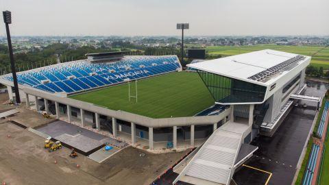 <strong>What:</strong> Kumagaya Rugby Stadium<br /><strong>Capacity:</strong> 25,600<br /><strong>Where:</strong> Kumagaya City, Saitama Prefecture<br /><strong>Matches:</strong> Russia vs Samoa; Georgia vs Uruguay; Argentina vs USA