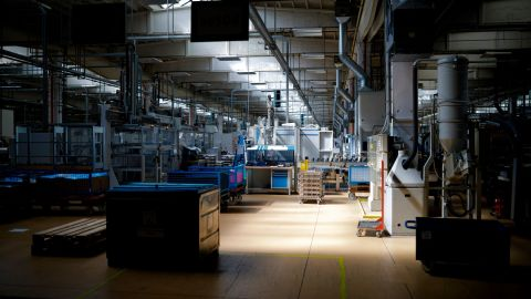 Brandenburg an der Havel, Germany - July 25:  Workers of the automotive supplier ZF Getriebe GmbH work in the factory hall, on July 25, 2019 in Brandenburg an der Havel, Germany. (Photo by Felix Zahn/Photothek via Getty Images)