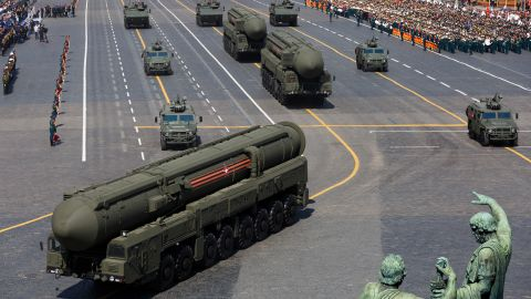 """Russia might be trying to look more to look """"more militarily formidable than it is."""""""