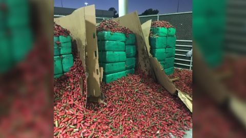 Border Patrol released this image of the confiscated shipment.