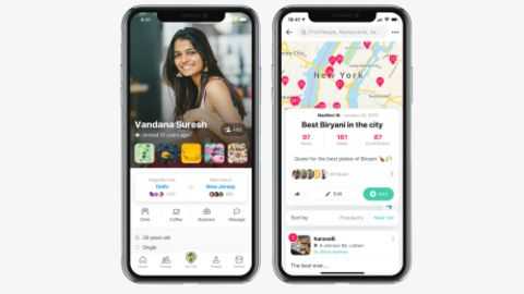 A look inside the Homeis app.
